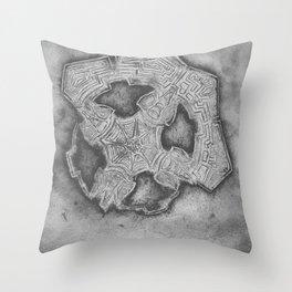 photoedphlorescence Throw Pillow