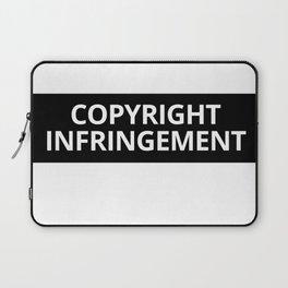 Copyright Infringement Laptop Sleeve