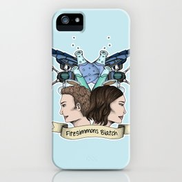 FitzSimmons Biatch iPhone Case