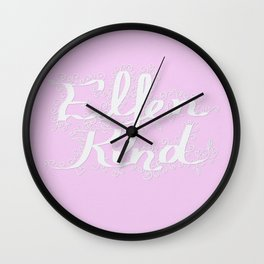 Elfenkind (Child of an Elf) Wall Clock