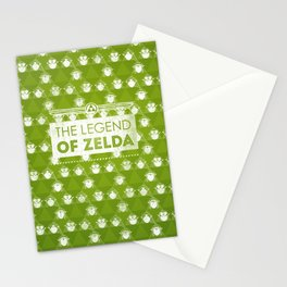 Zelda motif Stationery Cards