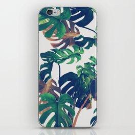 tropical wild green iPhone Skin