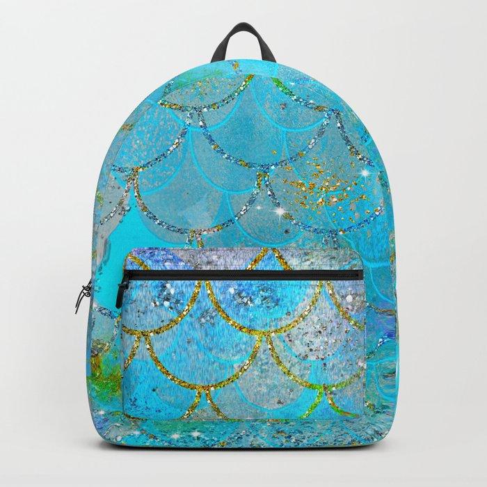 Mermaid Shimmer Rucksack