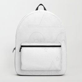 Camping t-shirt Backpack