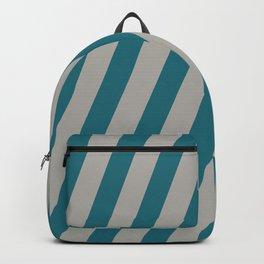 Royal Stripes (Quetzal Green) Backpack