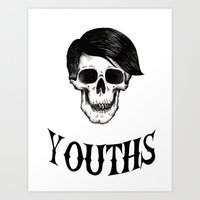 Youths Art Print