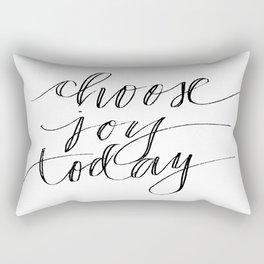 Choose Joy Today Rectangular Pillow
