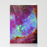nursery Stationery Cards featuring Stellar Nursery by Starstuff