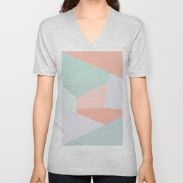 Facets Unisex V-Neck