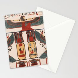 Ancient Egyptian pattern design Stationery Cards