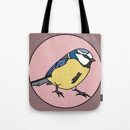 Blue tit Tote Bag