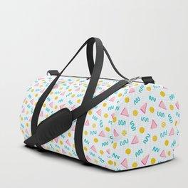 Geometric Memphis Duffle Bag