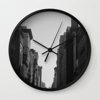 broadway Wall Clocks featuring Broadway by Loved and Lost