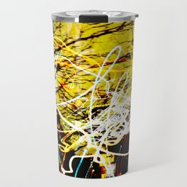 Chaos Tree - Light Painting Travel Mug