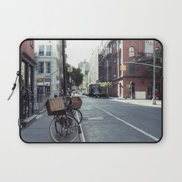 Bikes in Soho Laptop Sleeve