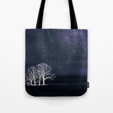 The Fabric of Space and the Boundary of Knowledge Tote Bag