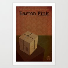 Film Friday No. 4, Barton Fink Art Print