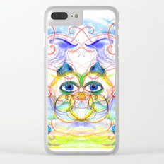 The Cat Clear iPhone Case