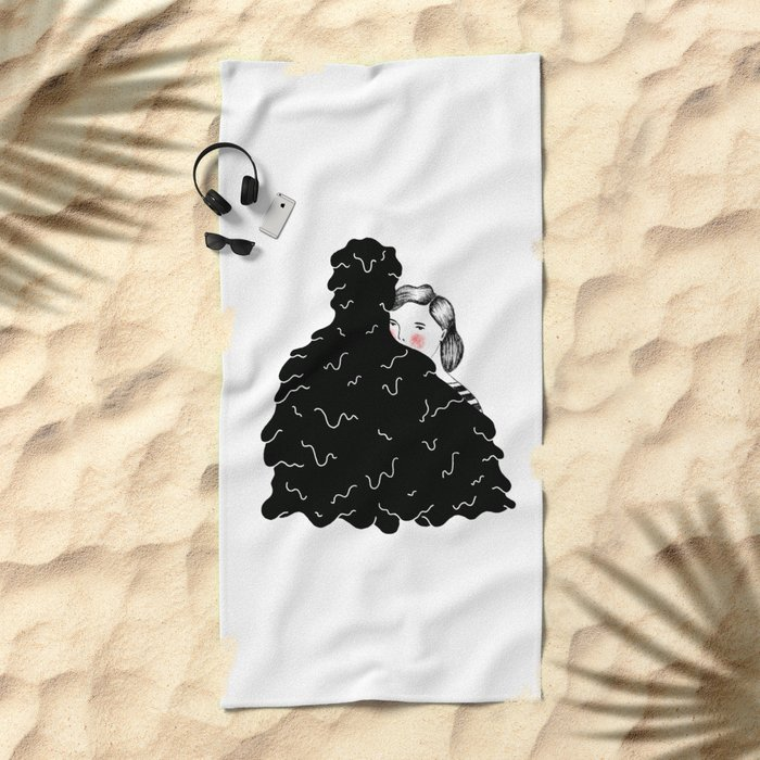 Solitaire Beach Towel