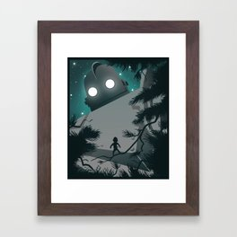 The Iron Giant Framed Art Print