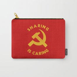 Sharing Is Caring Carry-All Pouch