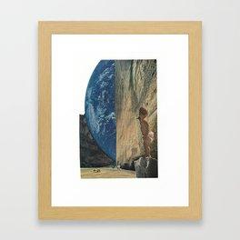 new worlds Framed Art Print