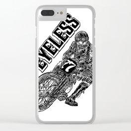 EYELESS MOTORACER Clear iPhone Case
