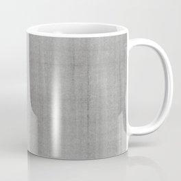 Pantone Pewter Dry Brush Strokes Texture Pattern Coffee Mug