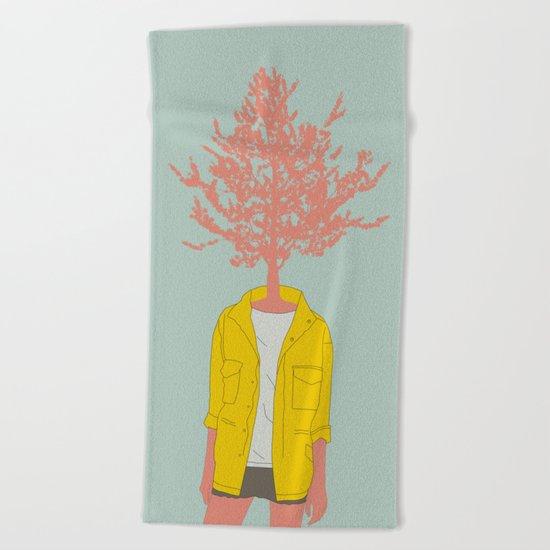 Woman Nature 4 Beach Towel