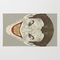 joker Area & Throw Rugs featuring Joker by Fabio Piazzi
