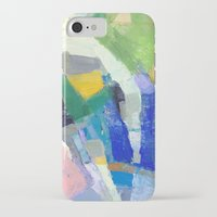 pool iPhone & iPod Cases featuring Pool by Jenny Vorwaller