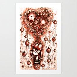 Steampunk Dreamer Art Print