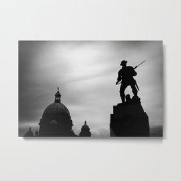 Victoria silhouettes Metal Print