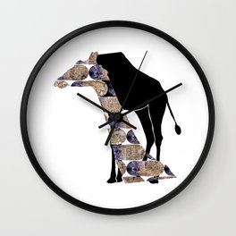 year of the horse: decapitation Wall Clock
