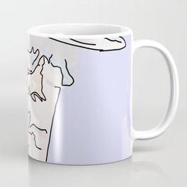 Strip-man Coffee Mug