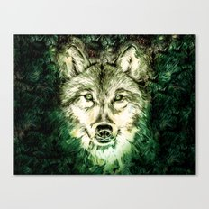 My Wolf Canvas Print