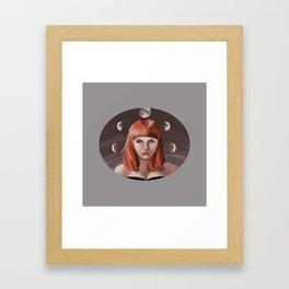 My Moon, My Man Framed Art Print