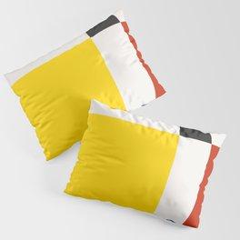 Mid Century Modern Vintage 21 Pillow Sham
