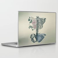 skeleton Laptop & iPad Skins featuring Skeleton by ArtSchool