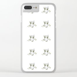 honeysuckle blooms Clear iPhone Case