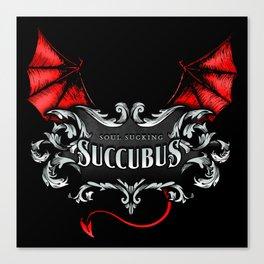 Succubus Shirt Canvas Print
