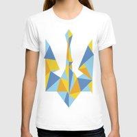 ukraine T-shirts featuring Ukraine Geometry by Sitchko Igor