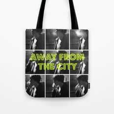 AWAY FROM THE CITY Tote Bag