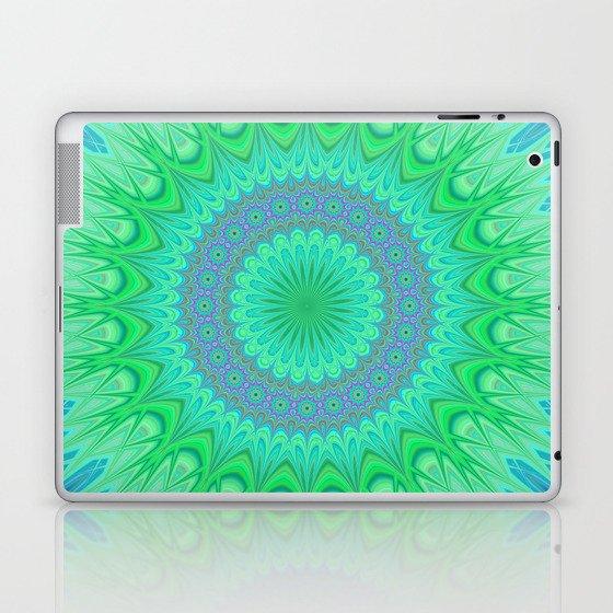 Crystal mandala Laptop & iPad Skin