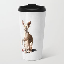 Cat-astrophe (Wordless) Travel Mug