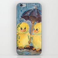 ducks iPhone & iPod Skins featuring Ducks by Corinne Fallone