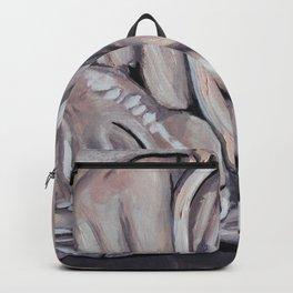 Sphynx, sphinx, sleeping little cat, original oil painting, art Backpack
