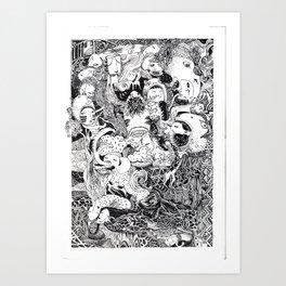 Enormous Joy Art Print