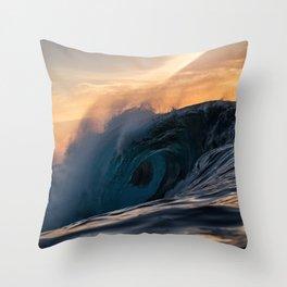 Burner Throw Pillow