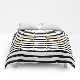 Eyes & Stripes Comforters